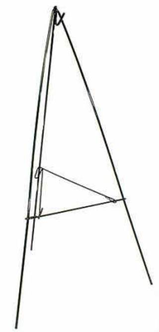 567-20-07 – 60″ GREEN WIRE EASEL, BDL/5