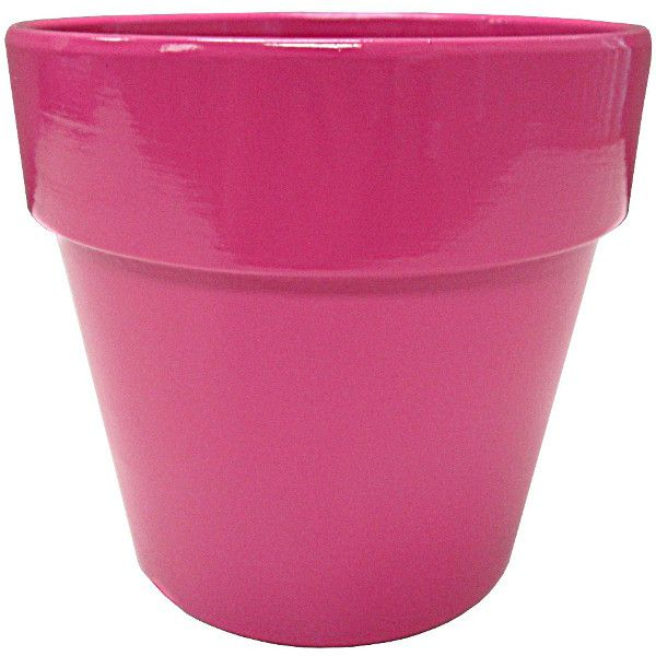 133168- 4 5/8″ Terra Cotta Hot Pink  24/Case