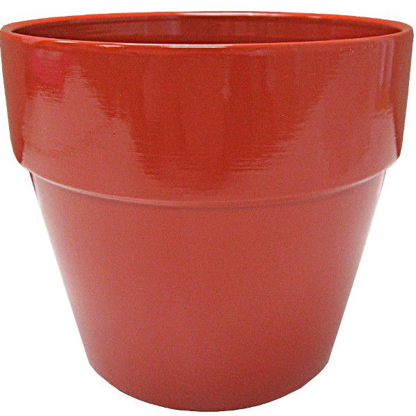 133174- 6.5″ Terra Cotta Matte Orange 24/cs