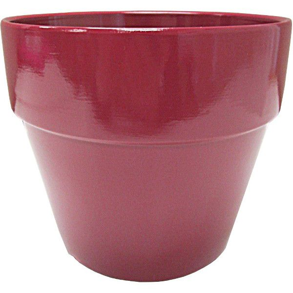 133175- 6.5″ Terra Cotta Burgandy 24/cs