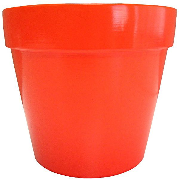 133177-  6″ Terra Cotta Orange 12/Case