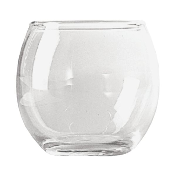 4038C- Votive Holder 2.5″ Roly Poly 36/Cs