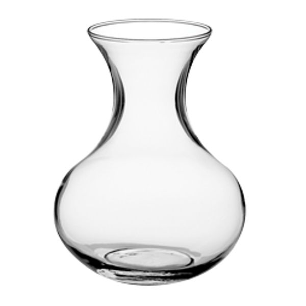 4013C- Vase 4.5″ Sweetheart Clear 24/Cs (194709)