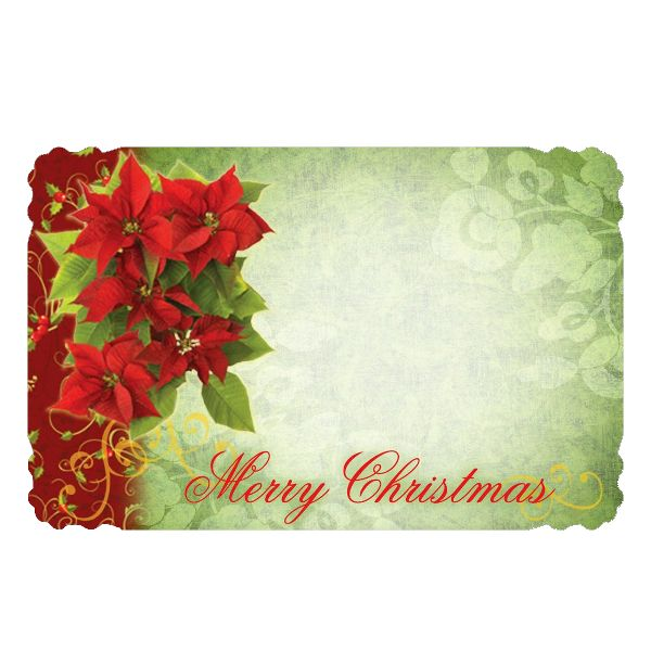 SP0119- Card Merry Christmas  50/Pkg