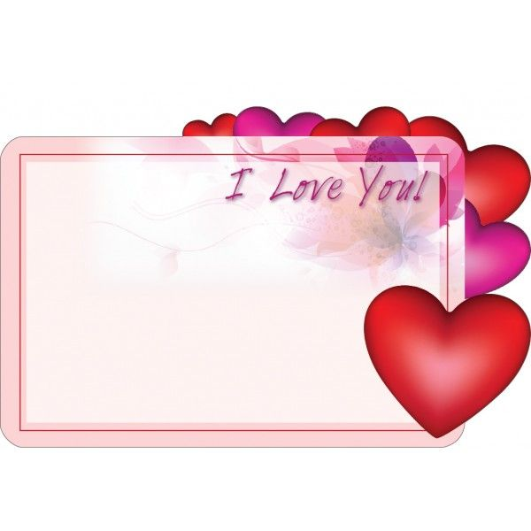 SP0427- Card I Love You  50/Pkg