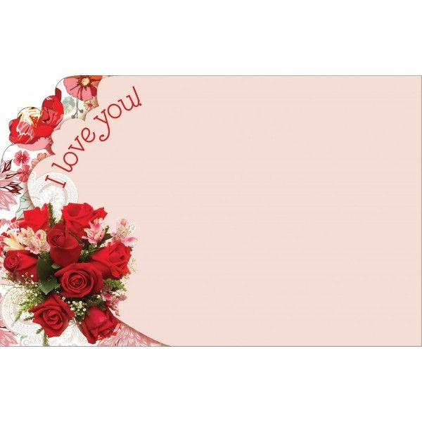 SP0428- Card I Love You  50/Pkg