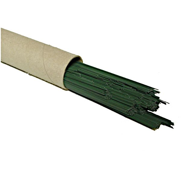 198199- WIRE 30G – 18″ GREEN 8 LB TUBE 8/CS FWM3018-GN