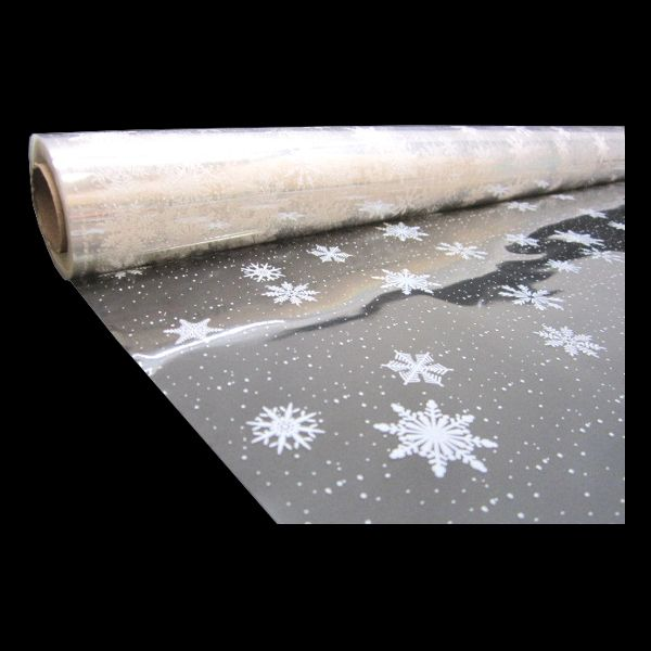 212050- CELLO 30 X 250′ – 30 MIC SNOW FLAKE CS/9