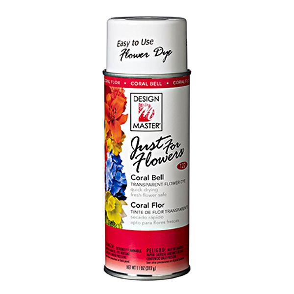 DM-122- PAINT JUST FOR FLOWERS CORAL BELL 12 OZ CS/4