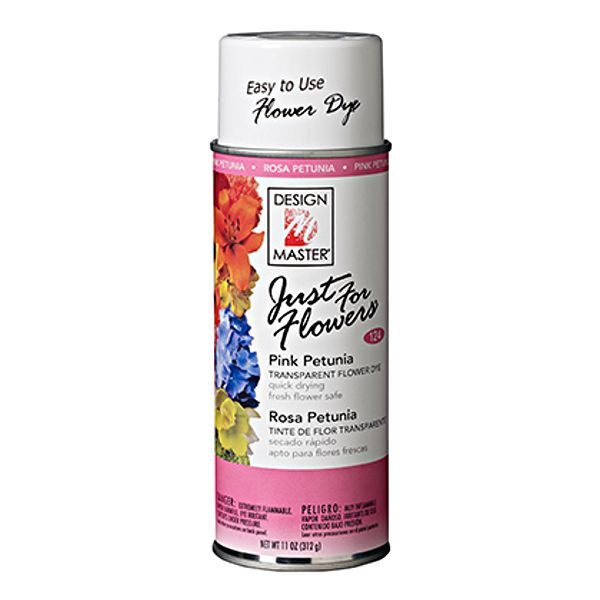 DM-124- PAINT JUST FOR FLOWERS PINK PETUNIA 12 OZ CS/4