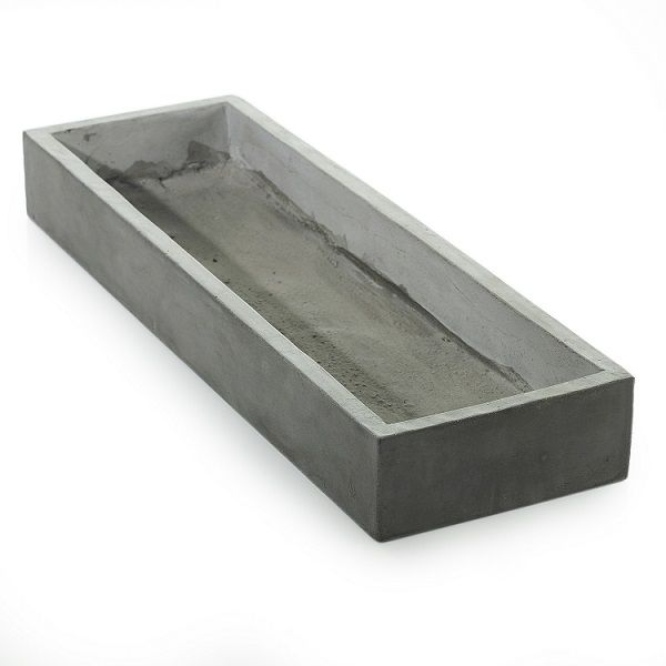 9628100 –  4″ X 9.75″ X 31.5″ GREY NEWPORT TRAY