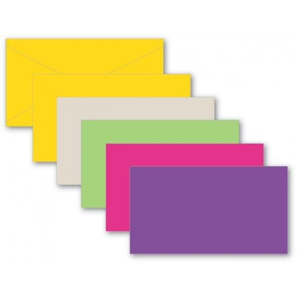 EN6305 –  #63 ENVELOPE 4.25″ X 2.5″ EVERYDAY ASSORTMENT