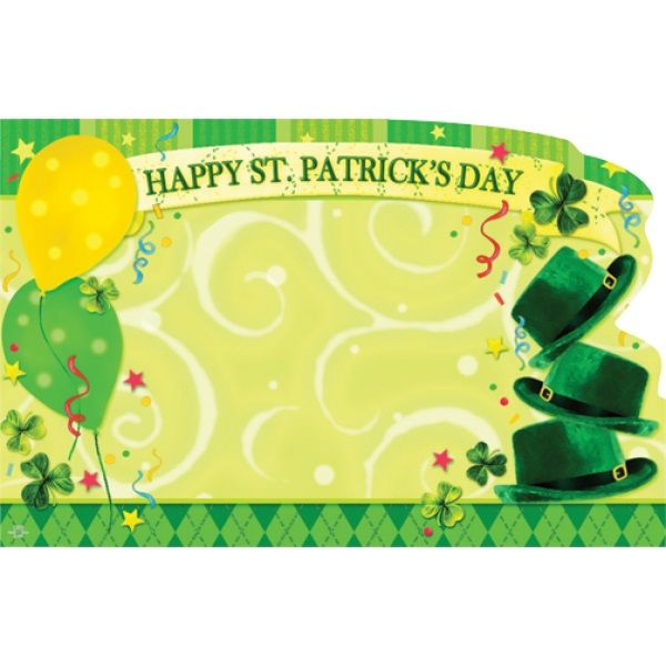 SP0157 –  HAPPY ST PATRICK'S DAY  PKG/50