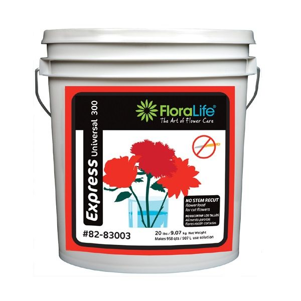 82-83003  –  20 LB EXPRESS 300 FLORALIFE PRESERVATIVE