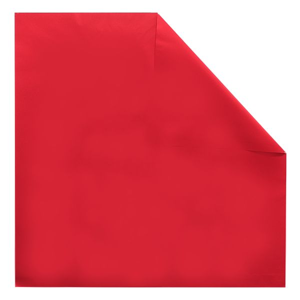 299527-  SHEET 24 X 24″ PEARL RED/RED 200/PKG (5PKG/CS)