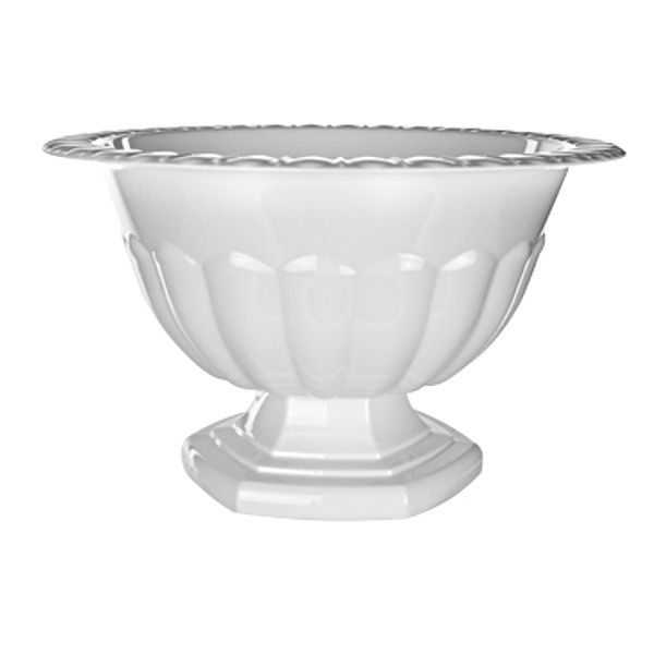 137W-  COMPOTE ABBY 6.5″ PLST WHITE CS/6 HOLLY HEIDER CHAPPLE