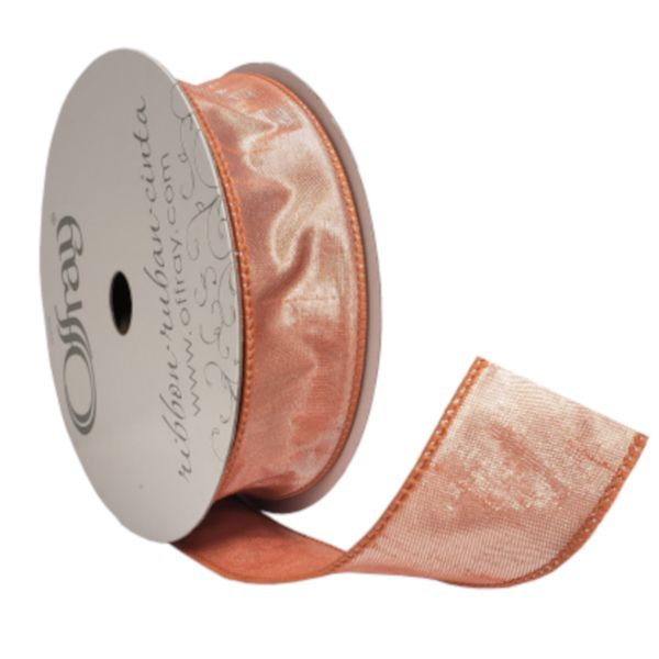 2261719 –  #9 X 25 YDS COPPER PENNY WIRED KEEVA RIBBON